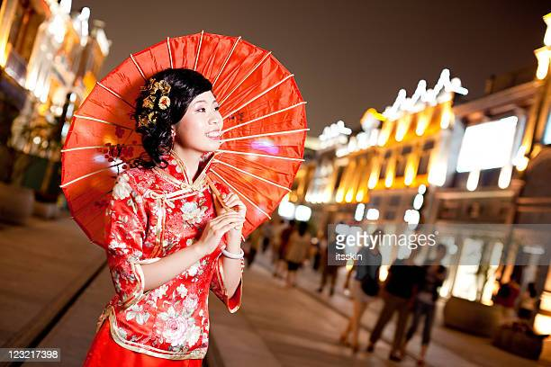 Chinese traditional woman