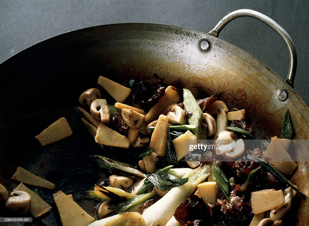 Chinese Vegetable Fry : Stock Photo