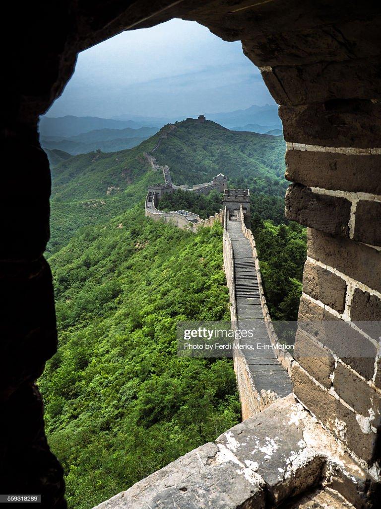 Chinese Wall at Simatai