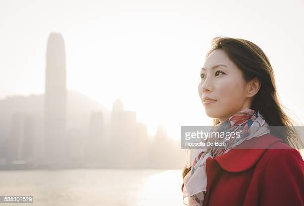中国人女性のポートレート