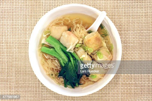 how to make wonton soup noodles