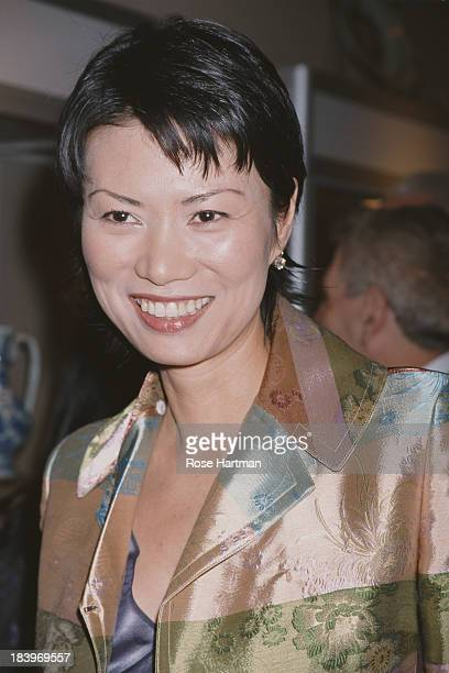 Chineseborn American businesswoman Wendi Deng Murdoch attends 'Asian Art Week' at the Park Avenue Armory New York City 2000