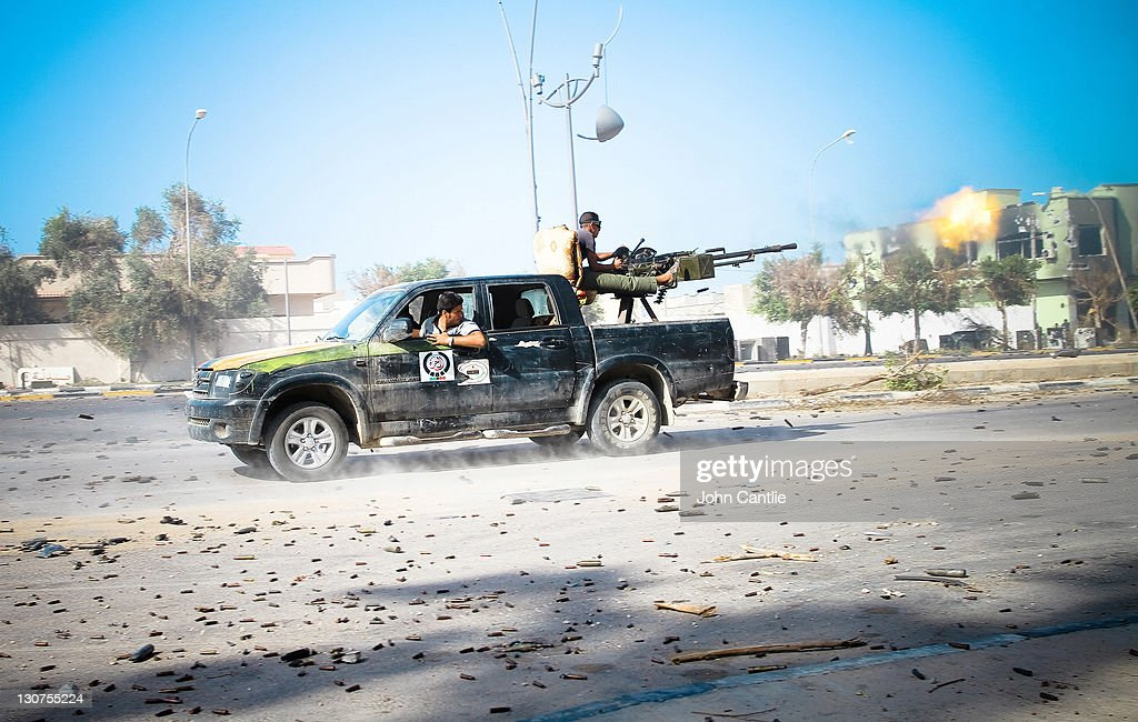 Outdated Vehicles And Technology Assist The Libyan Rebel ...