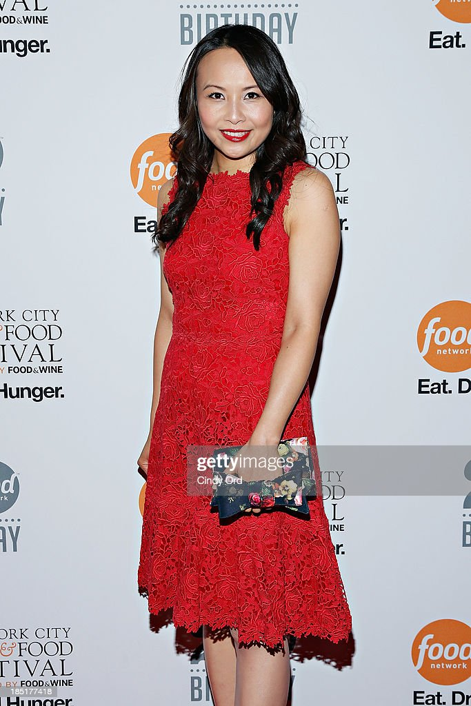 Ching-He Huang attends Food Networks 20th birthday celebration at Pier 92 on October 17, 2013 in New York City.