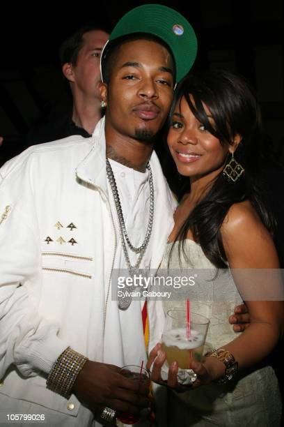 Chingy and Regina Hall during Dimension Films' 'Scary Movie 4' inside afterparty at Providence in New York New York United States