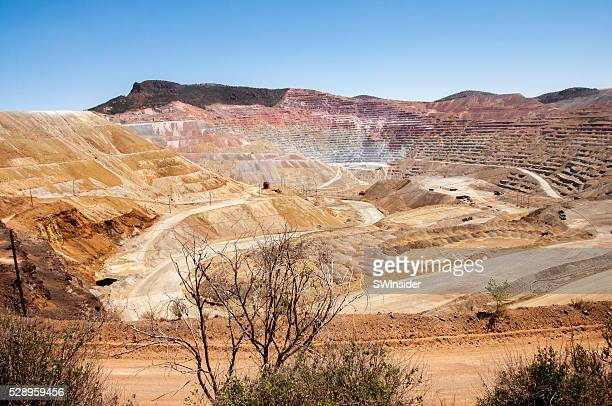 Chino Open Pit Copper Mine Owned by Freeport-McMoran