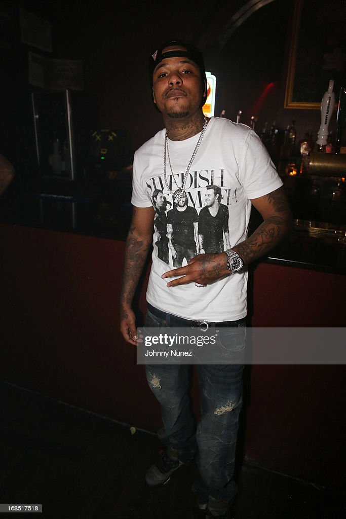 <a gi-track='captionPersonalityLinkClicked' href=/galleries/search?phrase=Chinx&family=editorial&specificpeople=8752901 ng-click='$event.stopPropagation()'>Chinx</a> Drugz attends Girls Night Out Hosted by Eve at Webster Hall on May 9, 2013 in New York City.
