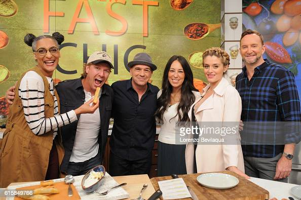 THE CHEW Chip and Joanna Gaines as well as Victoria Justice are the guests on Wednesday October 19 2016 on ABC's 'The Chew' 'The Chew' airs MONDAY...