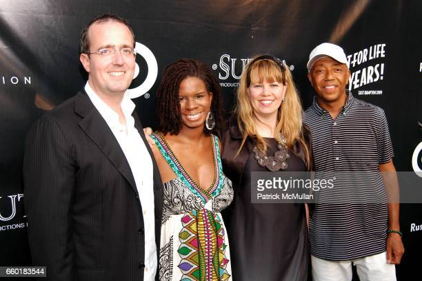 Chip Brady Tangie Murray Allison Brady and Russell Simmons attend RUSSELL SIMMONS Celebrates the 10th Anniversary of ART FOR LIFE at Private...