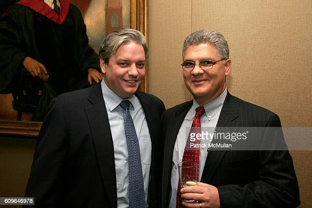 Chip Brian and Nick Mastrogiannis attend INTERNATIONAL BRAIN RESEARCH FOUNDATION Holiday Cocktail Celebration at Harvard Club of New York City on...