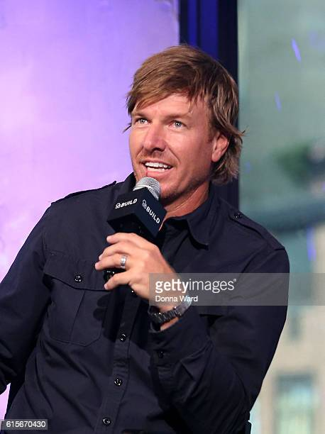 Chip Gaines appears to promote 'The Magnolia Story' during the AOL BUILD Series at AOL HQ on October 19 2016 in New York City