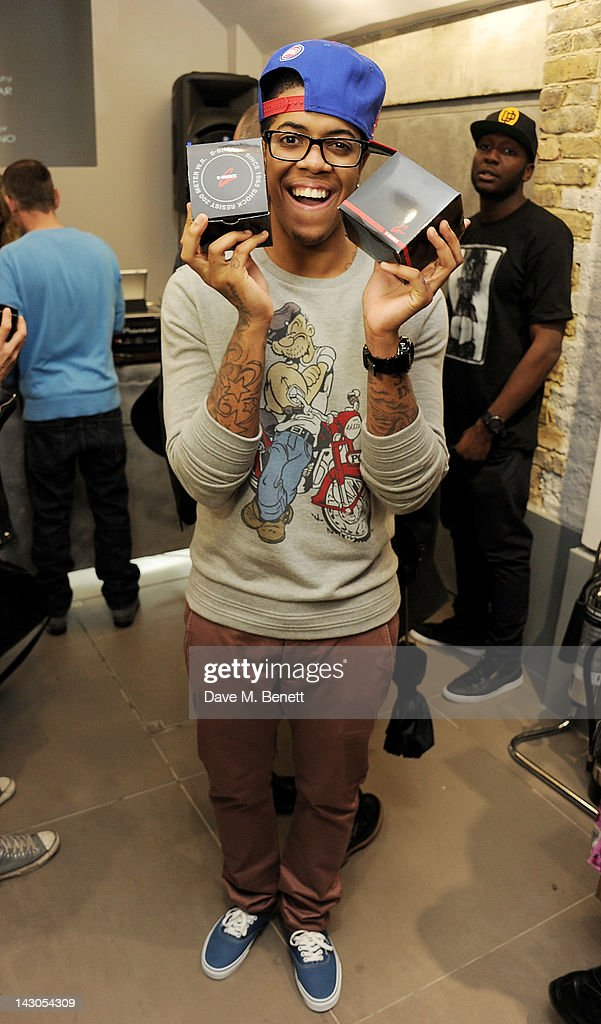 Chipmunk attends the launch of Casio London's Global Concept Store in Covent Garden Piazza on April 18, 2012 in London, England.