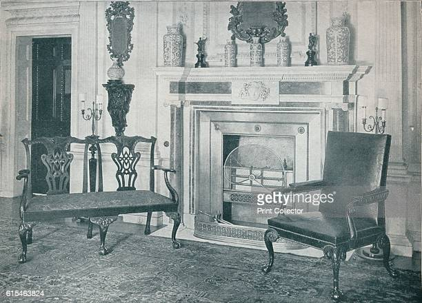 Chippendale Settee and Chair' 1910 Thomas Chippendale of Otley West Riding of Yorkshire was a London cabinetmaker and furniture designer in the...