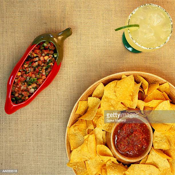 Chips and Salsa, and a Margarita