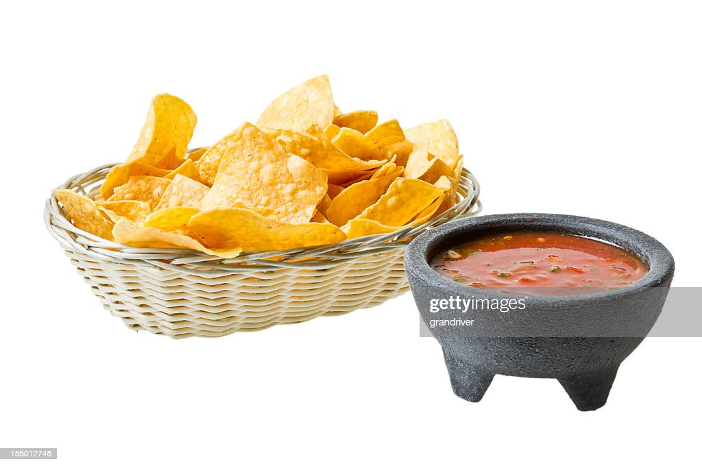 Chips and Salsa : Stock Photo