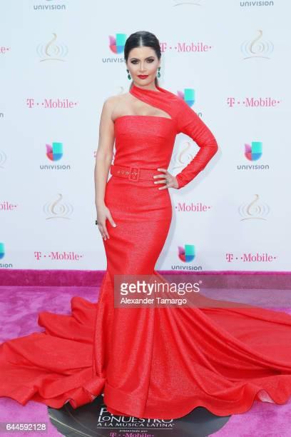Chiqui Delgado attends Univision's 29th Edition of Premio Lo Nuestro A La Musica Latina at the American Airlines Arena on February 23 2017 in Miami...