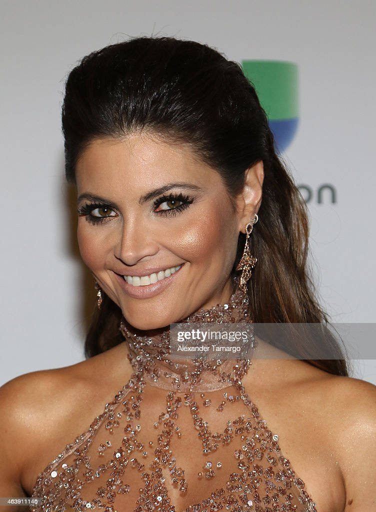 Chiquinquira Delgado attends the 2015 Premios Lo Nuestros Awards at American Airlines Arena on February 19 2015 in Miami Florida