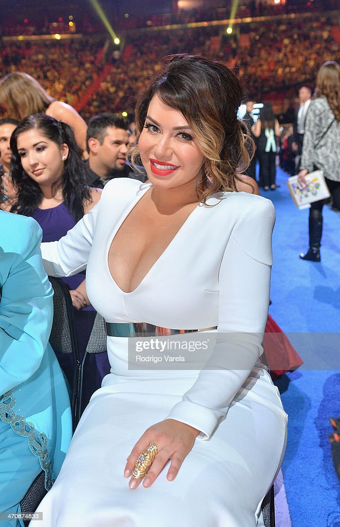 Chiquis Rivera attends Premio Lo Nuestro a la Musica Latina 2014 at American Airlines Arena on February 20, 2014 in Miami, Florida.