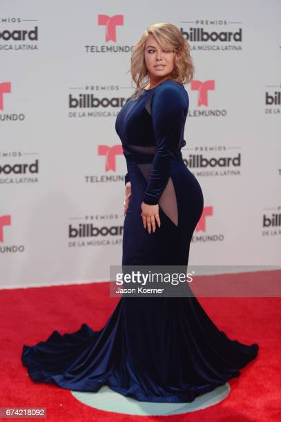 Chiquis Rivera attends the Billboard Latin Music Awards at Watsco Center on April 27 2017 in Miami Florida