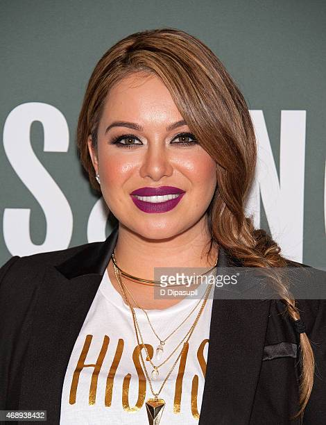 Chiquis Rivera promotes her book 'Forgiveness' at Barnes Noble Tribeca on April 8 2015 in New York City