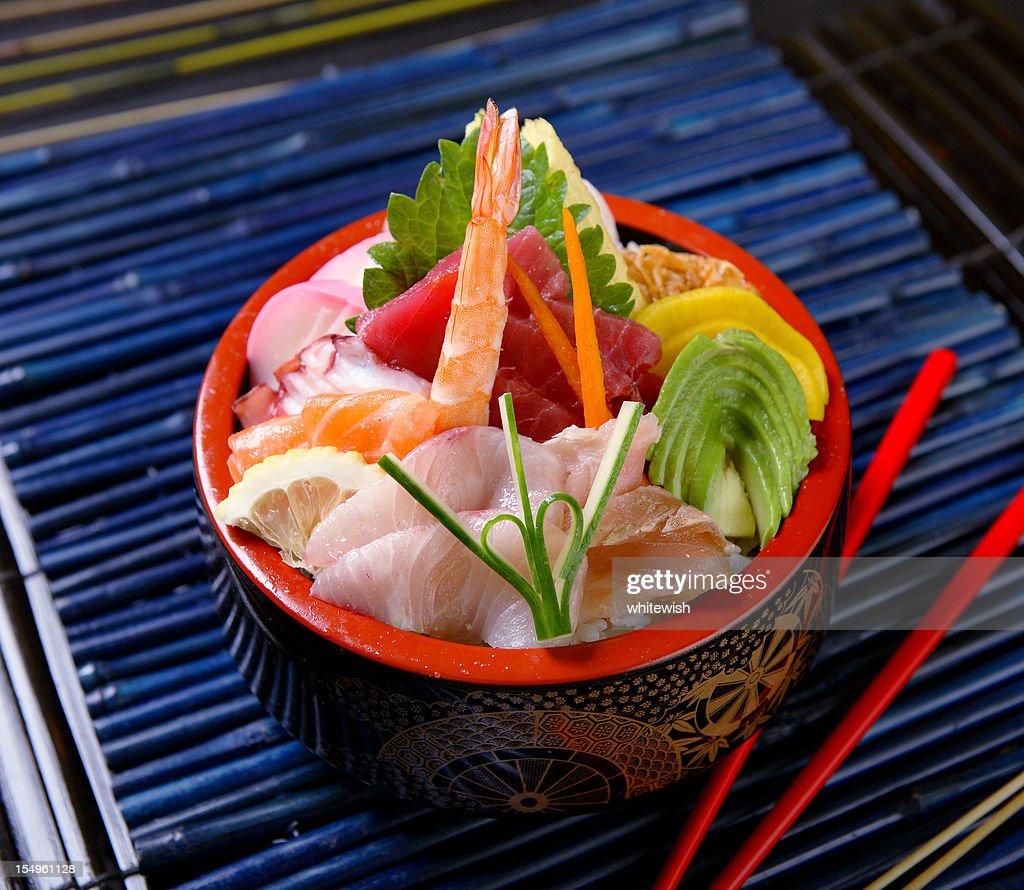 ちらし寿司丼 : ストックフォト