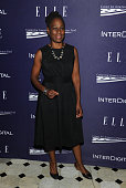 Chirlaine McCray attends a reception hosted by ELLE EditorinChief Robbie Myers and Center for American Progress President Neera Tanden sponsored by...