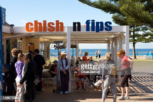 Chish N Fips, Coogee Beach.