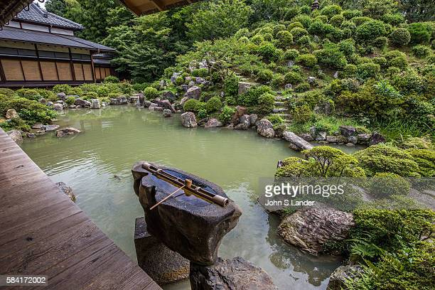 Chishakuin Garden the creation of tea master SennoRikyu is well known for its sense of optical expansion here the illusion of space is created by the...