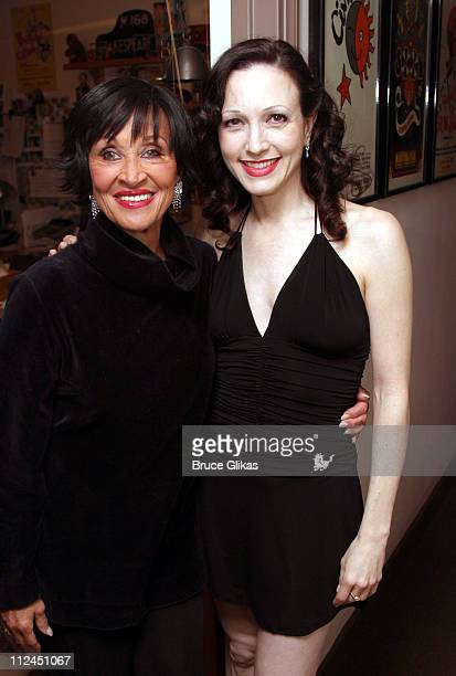 Chita Rivera and Bebe Neuwirth during 'Nothing Like a Dame 2004' A Benefit for The Phyllis Newman Health Initiative and Broadway Cares/Actors Fund of...