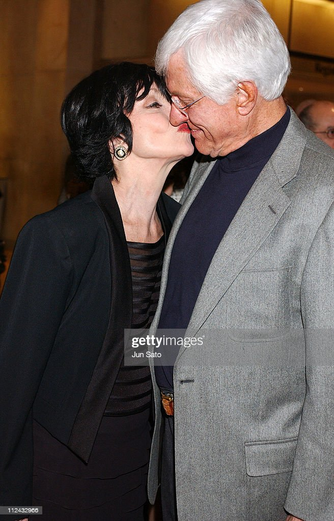 Chita Rivera and Dick Van Dyke during Professional Dancers Society 'Gypsy' Awards Arrivals at Beverly Hilton in Beverly Hills California United States