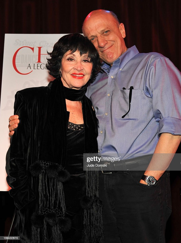 <a gi-track='captionPersonalityLinkClicked' href=/galleries/search?phrase=Chita+Rivera&family=editorial&specificpeople=206571 ng-click='$event.stopPropagation()'>Chita Rivera</a> and <a gi-track='captionPersonalityLinkClicked' href=/galleries/search?phrase=Tom+Viola&family=editorial&specificpeople=757093 ng-click='$event.stopPropagation()'>Tom Viola</a>, the Executive Director of Broadway Cares/ Equity Fights AIDS, at a Press Conference at Birdland Jazz Club on January 13, 2013 in New York City where it was annouced that Rivera will perform a one-night concert to benefit Broadway Cares/ Equity Fights AIDS.