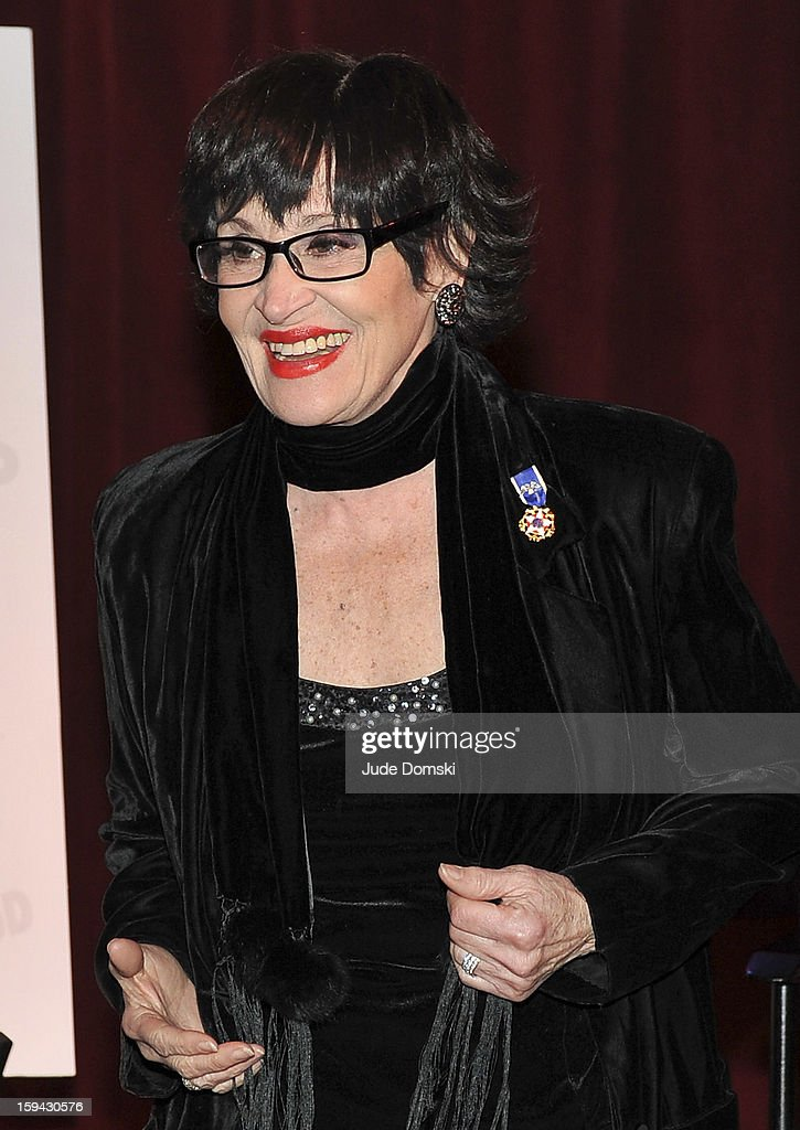 Chita Rivera at a Press Conference on January 13, 2013 at Birdland Jazz Club in New York City annouced that she will perform in a star-studded gala event 'Chita: A Legendary Celebration' to benefit Broadway Cares/ Equity Fights AIDS.