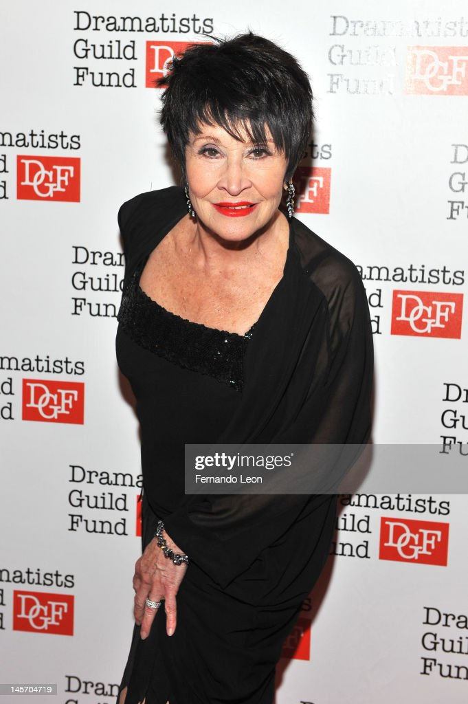 Chita Rivera attends Dramatists Guild Fund's 50th Anniversary Gala Honoring John Kander at Mandarin Oriental Hotel on June 3 2012 in New York City