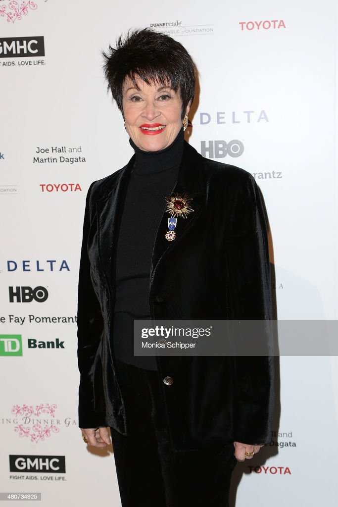 Chita Rivera attends the GMHC 2014 Spring Dinner Gala at Cipriani 42nd Street on March 26 2014 in New York City