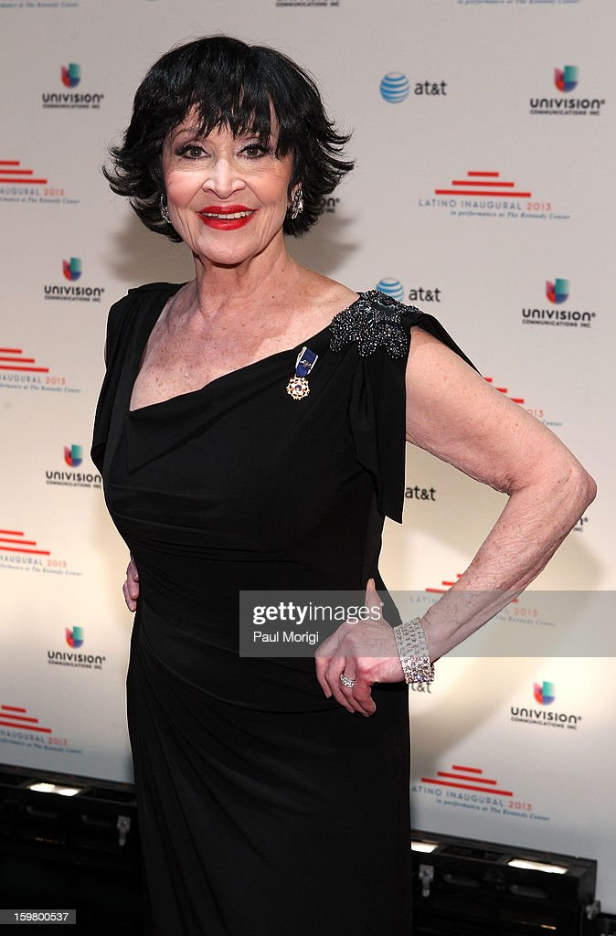 Chita Rivera attends the Latino Inaugural 2013 at The Kennedy Center on January 20, 2013 in Washington, DC.