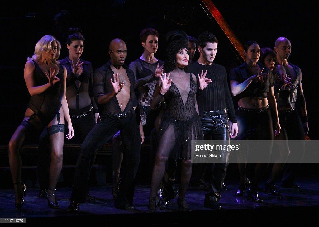 Chita Rivera during 'Chicago' Celebrates its 10th Anniversary on Broadway Dress Rehearsal at Ambassador Theater in New York City New York United...
