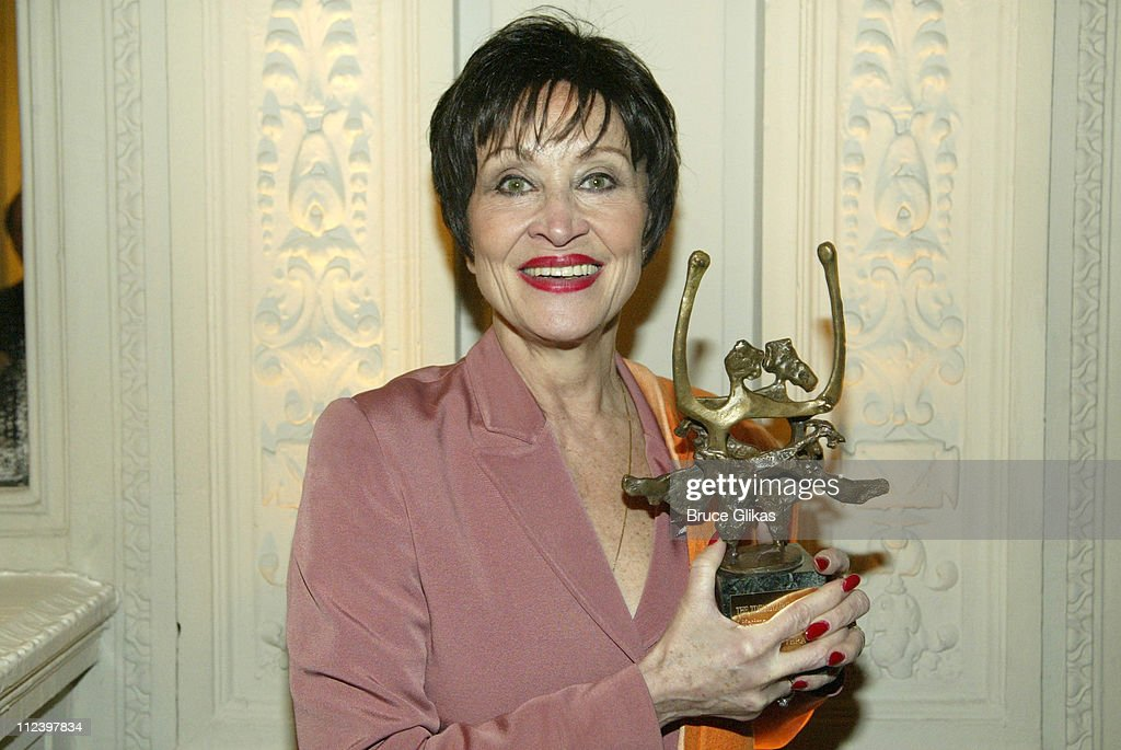Chita Rivera from '9' during 2003 Fred Astaire Awards at Hudson Theatre in New York City, New York, United States.