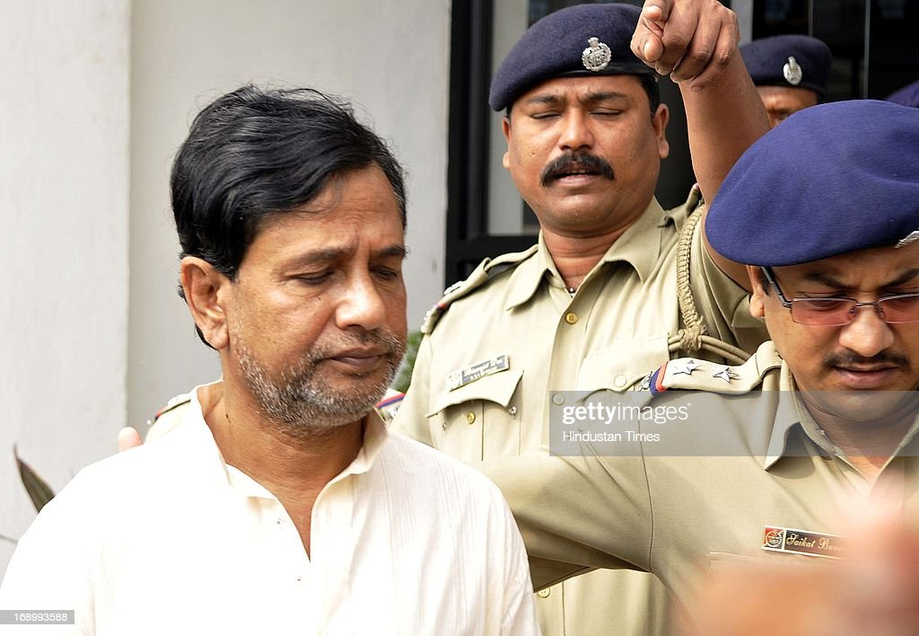 Chit-fund Company Saradha Group's Chairman Sudipta Sen comes out from Rajarhat New Town Police station before he was produced in Salt Lake Court on May 18, 2013 in Kolkata, India. Saradha Chief Sudipta Sen along with Saradha Director Debjani Mukherjee and Arvind Singh Chouhan were sent to nine days police custody in fresh case. Thousands of investors allegedly lost over INR 200-300 billion when group collapsed in April 2013.