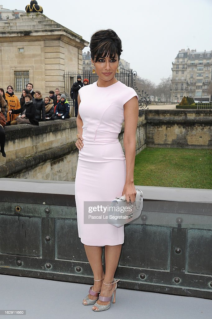 Chitrangada Singh arrives to attend the Christian Dior Fall/Winter 2013 Ready-to-Wear show as part of Paris Fashion Week on March 1, 2013 in Paris, France.