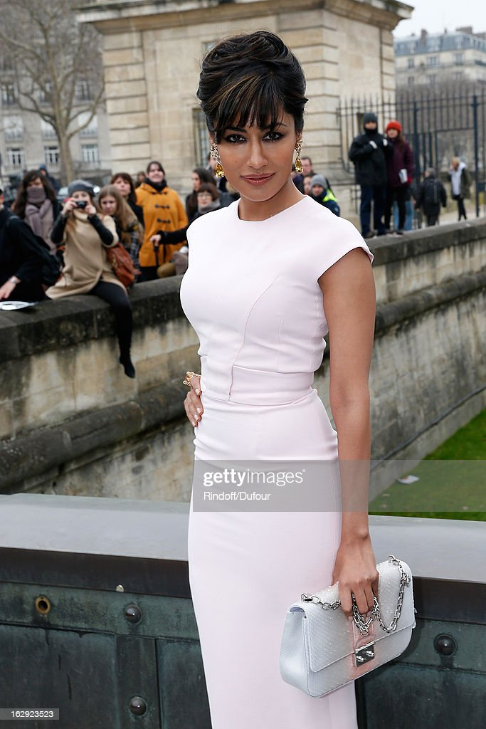 Chitrangada Singh attends the Christian Dior Fall/Winter 2013 Ready-to-Wear show as part of Paris Fashion Week on March 1, 2013 in Paris, France.