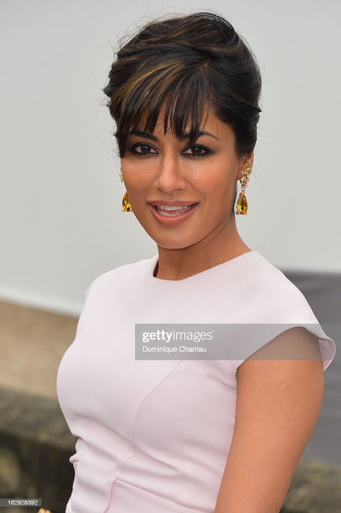 Chitrangada Singh poses as she arrives at the Christian Dior Fall/Winter 2013 Ready-to-Wear show as part of Paris Fashion Week on March 1, 2013 in Paris, France.
