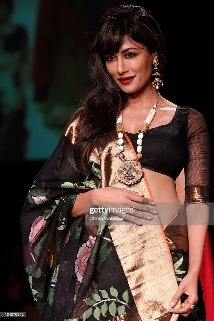 Chitrangada Singh showcases designs by Gaurang on the runway during day four of Lakme Fashion Week Summer/Resort 2013 on March 25, 2013 at Grand Hyatt in Mumbai, India.