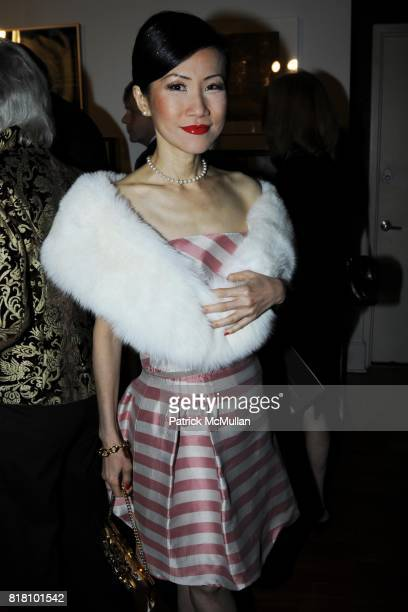 ChiuTi Jansen attends Aperture Foundation 2010 in Benefit and Auction honoring Richard Misrach Steven Ames and Julie Saul at Chelsea Piers on...