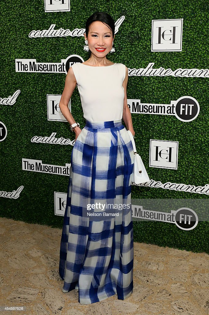 ChiuTi Jansen attends the 2014 Couture Council Award Luncheon Benefit for the Museum at FIT honoring Carolina Herrera at the David H Koch Theater at...