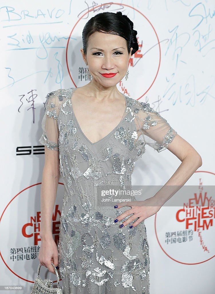 Chiu-Ti Jansen attends the 4th New York Chinese Film Festival Opening Night at Alice Tully Hall at Lincoln Center on November 5, 2013 in New York City.