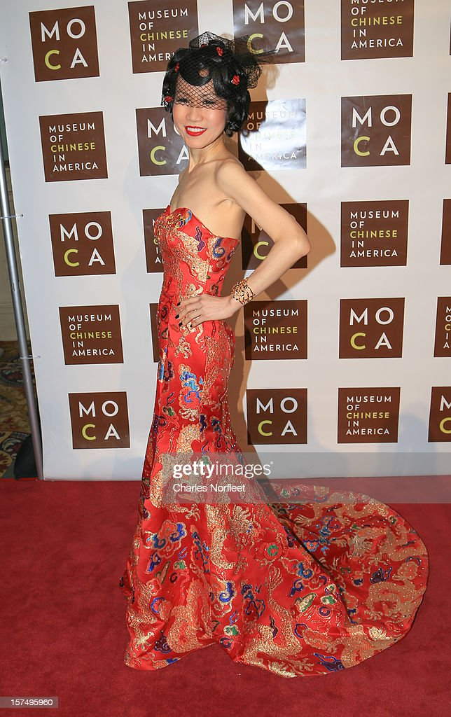 Chiu-Ti Jansen attends the Museum of Chinese in America's Annual Legacy awards dinner at Cipriani Wall Street on December 3, 2012 in New York City.