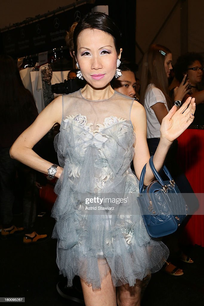 Chiu-Ti Jansen attends the TRESemme at Vivienne Tam fashion show during Mercedes-Benz Fashion Week Spring 2014 at The Stage at Lincoln Center on September 8, 2013 in New York City.
