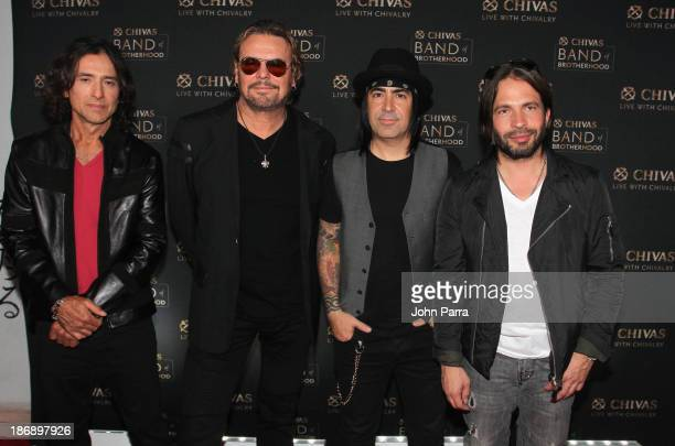 Chivas Regal ® announces their newest partnership Band of Brotherhood with Mana the biggest Latin rock band in the world at the SLS South Beach on...
