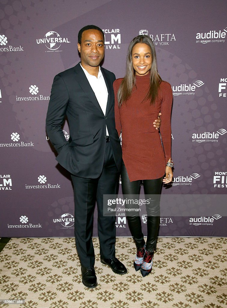 <a gi-track='captionPersonalityLinkClicked' href=/galleries/search?phrase=Chiwetel+Ejiofor&family=editorial&specificpeople=213998 ng-click='$event.stopPropagation()'>Chiwetel Ejiofor</a> (L) and Frances Aaternir attend the Montclair Film Festival 2016 Richard Curtis Conversation And Filmmaker Tribute at Montclair Country Club on April 30, 2016 in Montclair, New Jersey.
