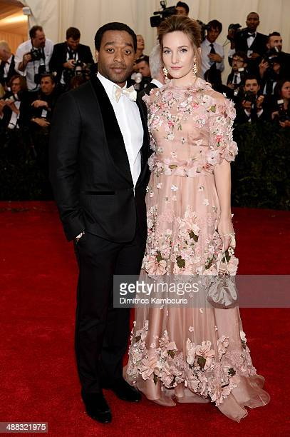 Chiwetel Ejiofor and Sari Mercer attend the 'Charles James Beyond Fashion' Costume Institute Gala at the Metropolitan Museum of Art on May 5 2014 in...